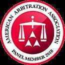 American Arbitration Association 2018 Panel Member